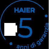 Garanzia Haier Plus 5!