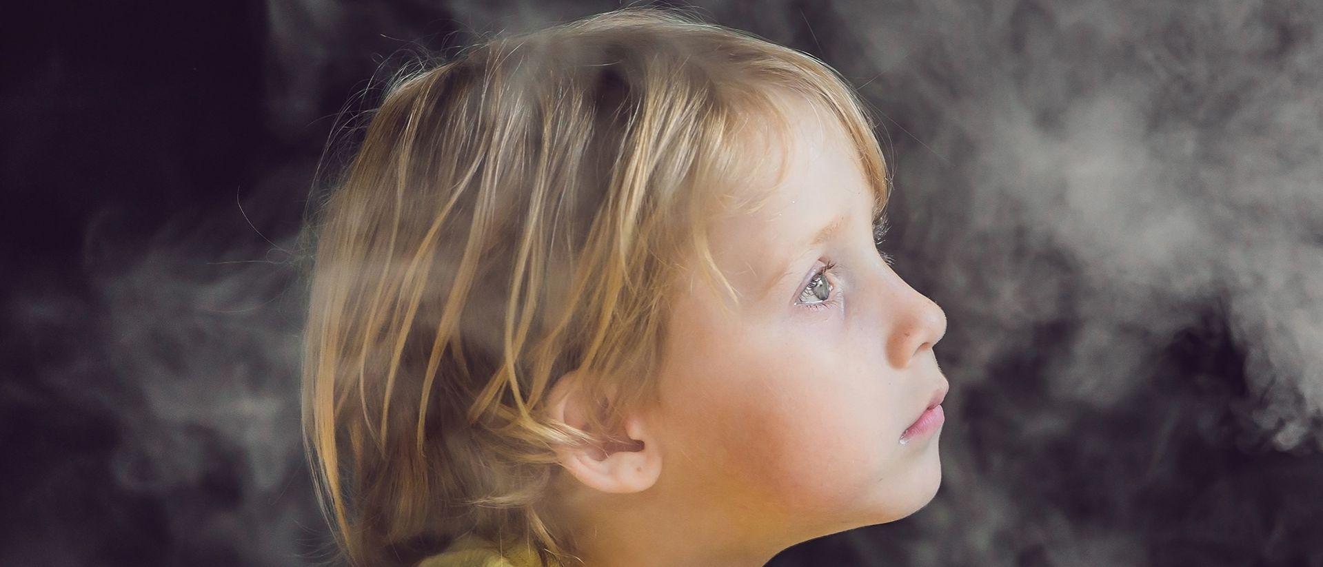 L'inquinamento atmosferico riduce la capacità polmonare nei bambini