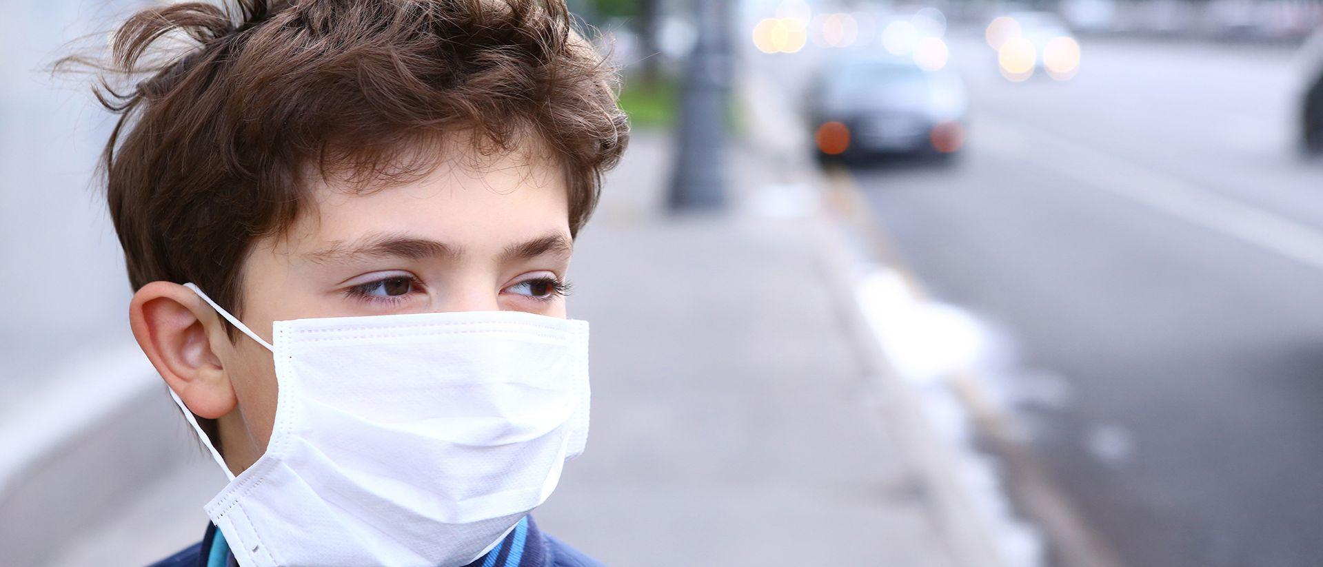Quanto PM10 respira un bambino mentre va a scuola