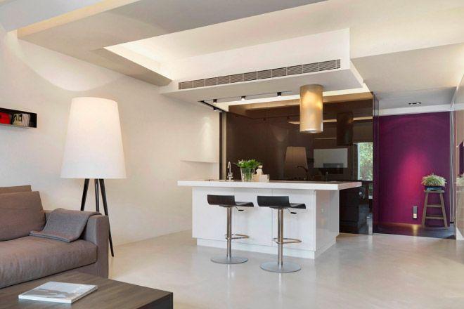 Condizionatore canalizzato compatto e elegante per la casa
