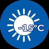 -15°C Riscaldamento